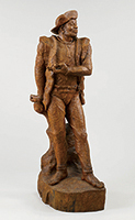 作品画像:石狩の男