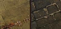 作品画像:表面と底面  (Diptych)