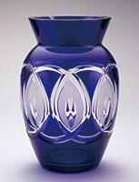 作品画像:瑠璃花瓶