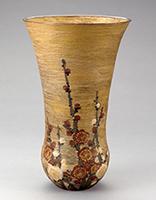 作品画像:紅白梅花瓶