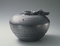 作品画像:青銅壺 天地