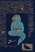 作品画像:青い薬神