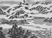 作品画像:湖畔雨意