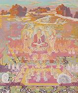 作品画像:彌陀来迎曼茶羅