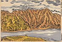 作品画像:西湖曇り日の富士