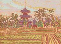 法起寺風景