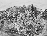 作品画像:オレンジの花咲く島