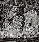 作品画像:大歩危岩壁