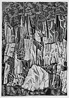 作品画像:瀞峡岩壁