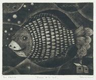 作品画像:夜の魚