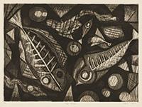作品画像:三匹の魚 B