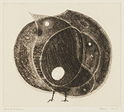 作品画像:鳥と果実(小)