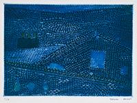作品画像:青い家