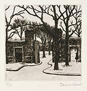 作品画像:墓場の入口