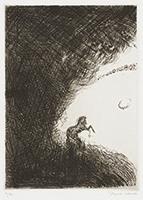 作品画像:2. この暗黒の帯のはずれに、小さな無数の光をちりばめた宝冠のように[『九つの夢から』より]