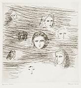 作品画像:「しんきろうの国の人々」挿画