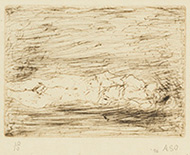 作品画像:横たわる裸婦 Ⅱ