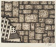 作品画像:[崩壊する都市、壁]