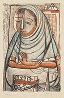 作品画像:サボテンを売る女