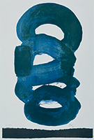 作品画像:青 – 黒