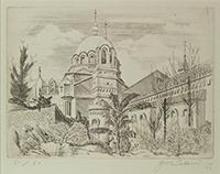 作品画像:聖堂