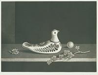作品画像:メキシコの鳩 静物画