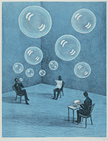 作品画像:青い部屋
