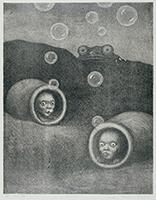 作品画像:自分の穴の中で 2