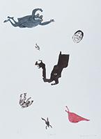 作品画像:怪獣と蛙