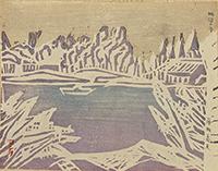 作品画像:城沼の冬