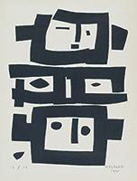 作品画像:三つの顔