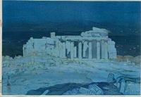 作品画像:アゼンスの古跡 夜