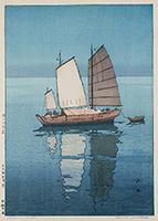 作品画像:帆船 午後