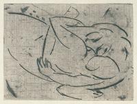作品画像:抱擁する男と女