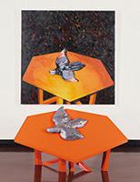 作品画像:テーブル上の鳥