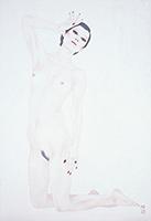 作品画像:白い裸婦の習作