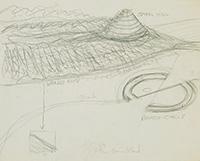 作品画像:螺旋形の丘・壊れた円環