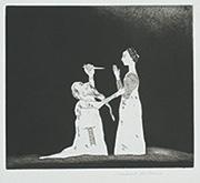 作品画像:リンクランクじいさんが王女を襲う[『6つのグリム童話』より]