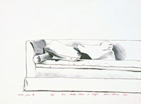 作品画像:ソファー、ヘッジ・プレイス8501番地、ロサンゼルス