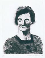 作品画像:20歳の頃の母(写真より):ギュスターヴ・フローベルの『純な心』のフェリシテのための習作