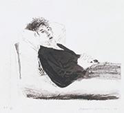 作品画像:横たわる人