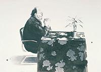 作品画像:テーブルのヘンリー