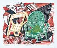 作品画像:ペンブローク・スタジオの2つの椅子