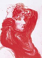 作品画像:赤いシーリア