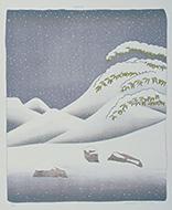 作品画像:雪[『ウェザー・シリーズ』より]