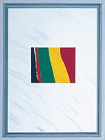 作品画像:ガラス付きの額に入った無意味な抽象画[『ハリウッド・コレクション』より]