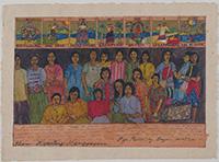 作品画像:タロット・カード・シリーズ:フィリピン人女性《移民労働者》
