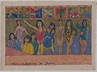 作品画像:タロット・カード・シリーズ:フィリピン人女性《日本のエンターテイナー》