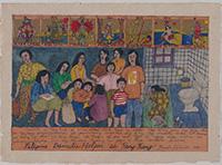 作品画像:タロット・カード・シリーズ:フィリピン人女性《香港の家政婦》