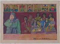 作品画像:タロット・カード・シリーズ:フィリピン人女性《中東で》